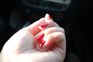 hand, nail polish