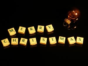 Xmas, Merry Christmas, Scrabble