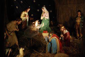Xmas, Nativity Scene