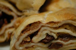 Baking, Apfelstrudel, Apple Strudel
