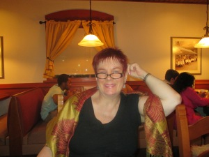 Moi at Olive Garden in Brooklyn