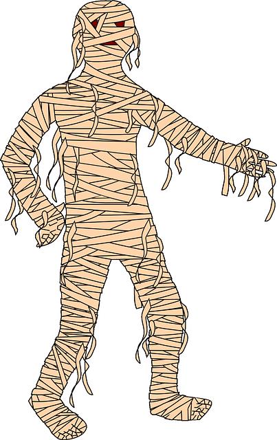 Mummy, cartoon
