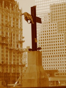 Twin Towers Cross