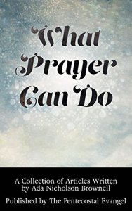 What Prayer Can Do