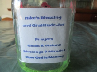 Blessing Jar, Mason Jar 1