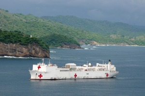 A Navy Hosp Ship